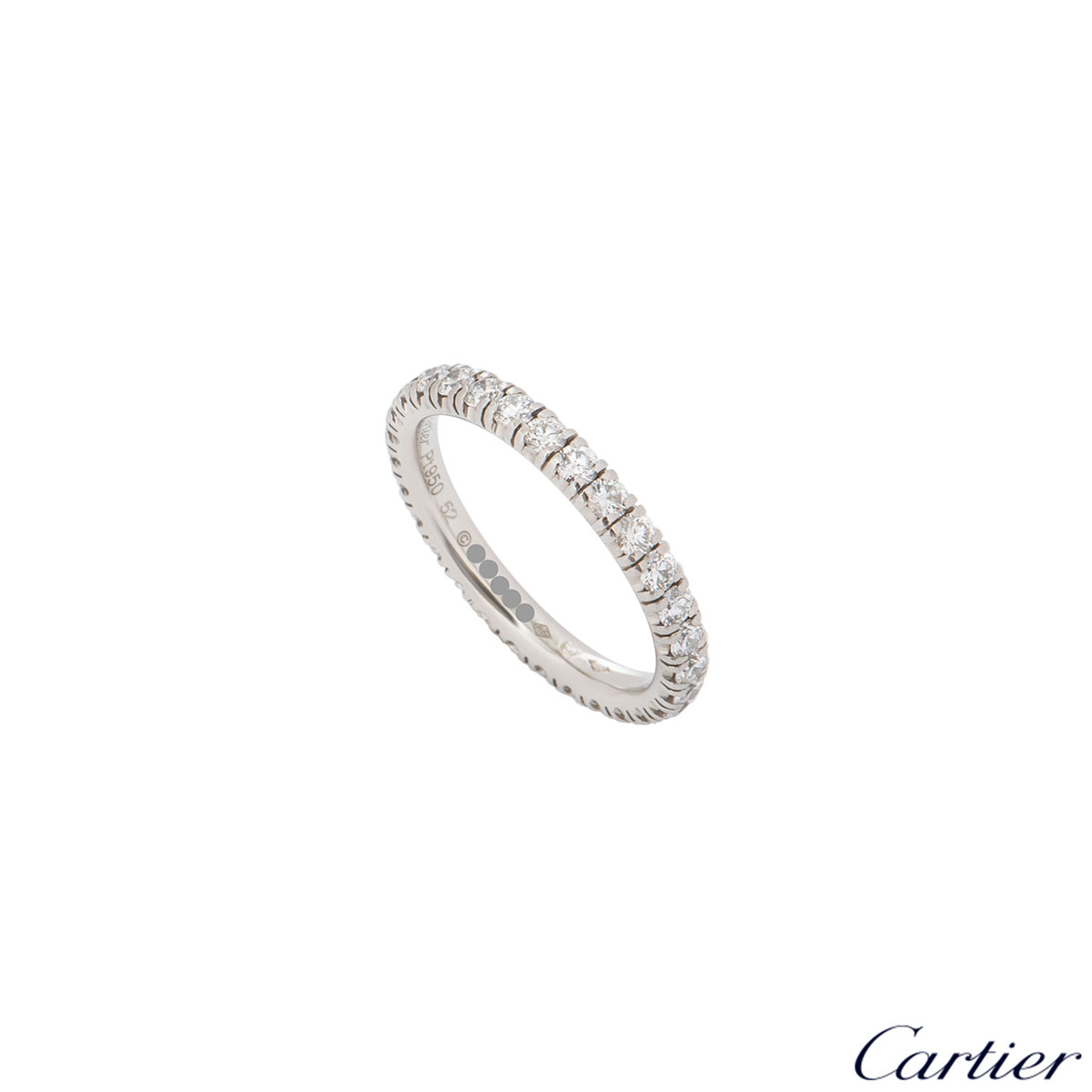 Cartier Platinum Diamond Étincelle De Cartier Ring B4087152